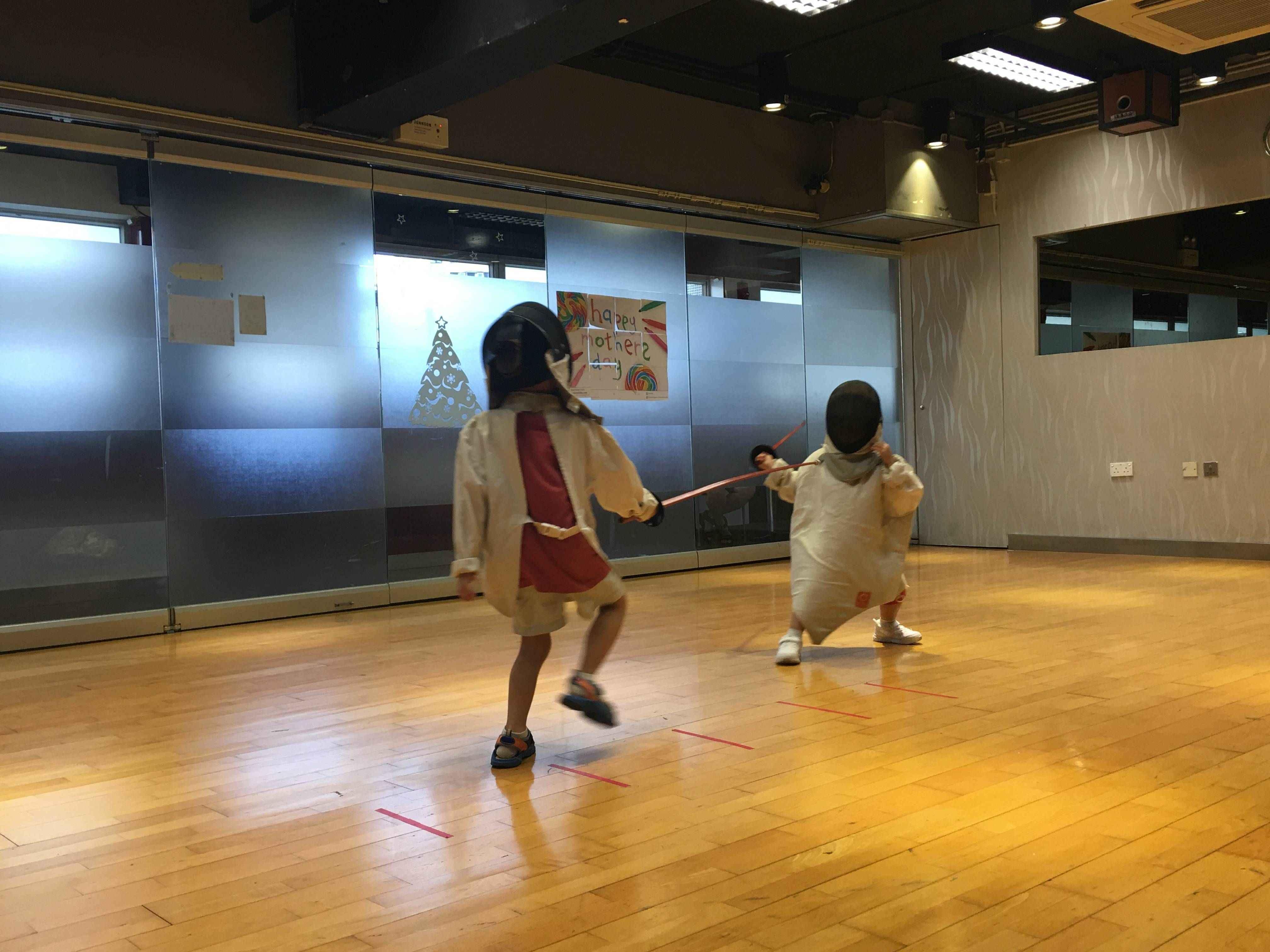 幼兒及兒童劍擊